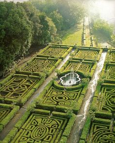 North of Rome, these landscaped maze gardens at Ruspoli Castello are a great way to spend an afternoon off the beaten path.
