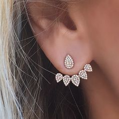 Ear jackets are the delicate new accessory to try.