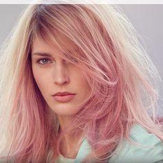 cabelo rosa!
