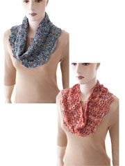 Easy Shaped Cowls to Crochet Pattern - Electronic Download