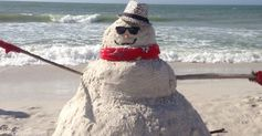 These Instagrams will show you how to build a snowman from the least likely materials.