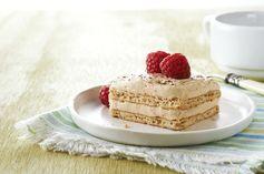 Make-Ahead Tiramisu – Cream cheese and whipped topping make this luscious Make-Ahead Tiramisu easy to prepare! #PinThatTwist