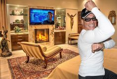Jean-Claude Van Damme selling bonkers house in Marina Del Rey for $10M.