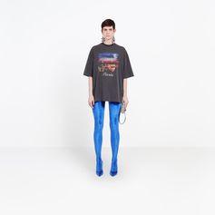 BALENCIAGA Paris Short Sleeves Top