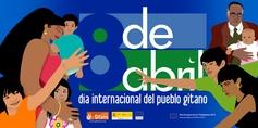 08.04.2013 Dia Internacional del Pueblo Gitano. Recuerda el Congreso Mundial roma/gitano celebrado en Londres el 8 de abril de 1971, en el que se instituyeron la bandera y el himno gitanos.  Más info en http://www.gitanos.org/actualidad/archivo/98324.html