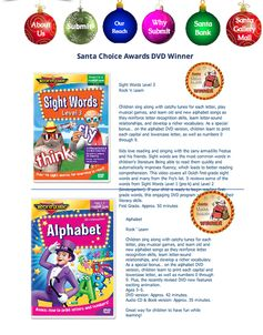 Santa Choice Award - Best DVD - Great Gift for the Kids this Christmas!