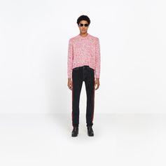 BALENCIAGA Round Neck Tuck In Sweater