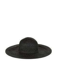 Floppy Hat   Black   Accessorize