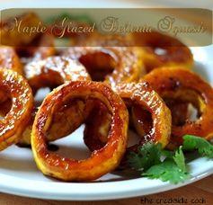 Maple Glazed Delicata Squash - Serve as a side for a pork dish.