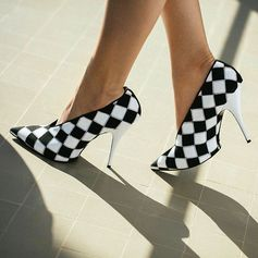 Make a monochrome statement in these checkerboard numbers.