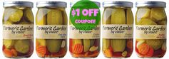 Vlasic:  $1 off Farmer's Garden Coupon + Pastrami Wrapped Pickles Recipe!