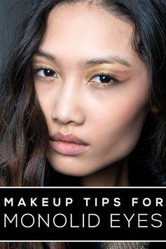 makeup tips monolid eyes