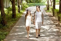 take a romantic walk at Papillon Hotels