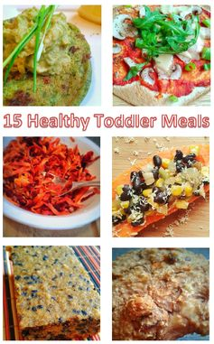 Welcome to Mommyhood: 15 healthy toddler meal ideas #healthytoddlermeals
