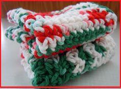 Crochet Christmas Dishcloth Patterns