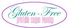 Gluten-Free Printable Coupon Roundup!