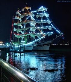 Veleros en la noche #Guayaquil