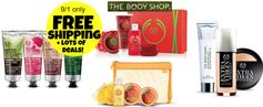 The Body Shop: FREE Shipping (no minimum) + Buy 3, Get 3 FREE & More! 9/1 only