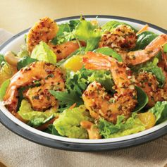 Asian Shrimp Salad: We can't think of anything better for a tasty lunch or dinner!