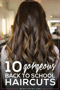 10 gorgeous back to school haircuts // long layers for added texture