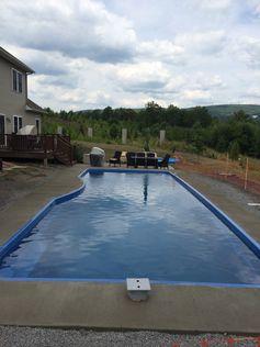 fiberglass swim spa