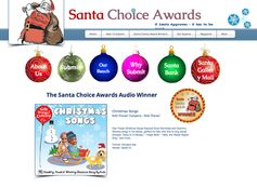 Santa Choice Award Winner - Audio Christmas Songs!