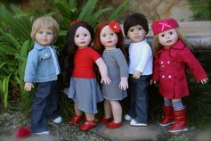 Enter Doll Giveaways of 18 inch Premium Quality Dolls, the same size as American Girl. Visit our Facebook Page http://www.facebook.com/harmonyclubdollspeaceloveharmony