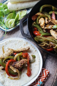"Tequila & Lime ""Margarita"" Chicken Fajitas - Marinade your chicken overnight and upgrade your fajita recipe!"