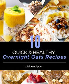 Looking for a healthy breakfast idea? Overnight oats in a jar are nutritious, easy, and quick to make.