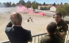 Demostraciones del Mando de Operaciones Especiales #MOE del Ejército de Tierra #JEME http://wp.me/p2n0XE-57j vía @juliansafety @segurpricat  Las autoridades presencian una demostración