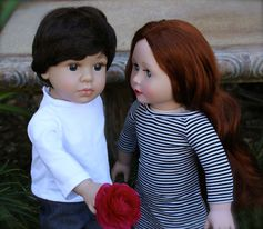 SHOP 18 inch Boy and Girl Dolls at www.harmonyclubdolls.com The same size as American Girl 18 inch Dolls