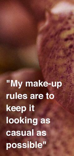 British model and Burberry Liquid Lip Velvet campaign star Iris Law