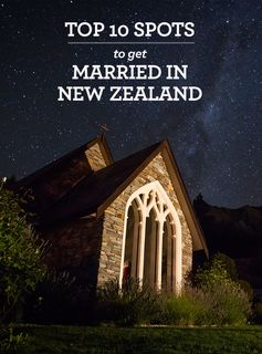 Thinking about tying the knot in New Zealand? Get inspired!