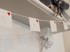 love letter garland