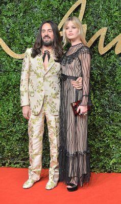Best Dressed at the British Fashion Awards | Georgia May Jagger