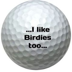 birdies are good
