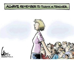 Always Remember To Thank A Teacher