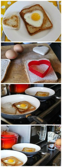 A Thrifty Mum: Love toast - a simple breakfast