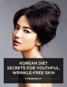 It's not just genetics; these foods also have a hand in the Korean women's flawless complexions.