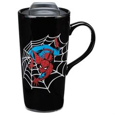 Marvel Spider-Man Heat Reactive 20 oz. Ceramic Travel Mug #VandorLLC #Spider-Man
