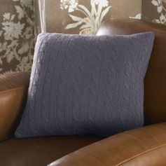 Cabled Cashmere Throw Pillow - Ralph Lauren Home Decorative Pillows - RalphLauren.com