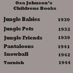 Book List of Osa's Children's Books