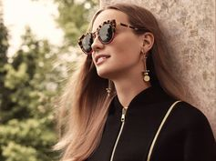 Featuring modern color-blocking and retro-inspired frames, Ferragamo Eyewear's all-season cat-eye sunglasses. http://bit.ly/2hK4PiO