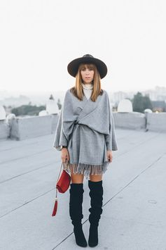 Cape and Poncho Outfit Ideas | Wrapped Up