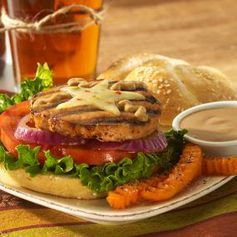 Heat things up for National Burger Day today with our fiercely fiery recipe for Chipotle Ranch Salmon Burgers.