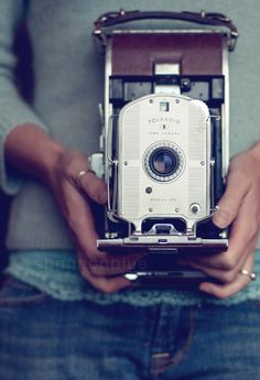 I want one!   #vintage #polaroid #camera