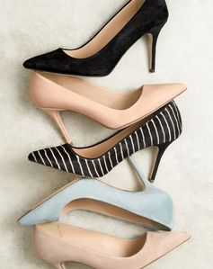 J.Crew women's Elsie pumps. To preorder call 800 261 7422 or email verypersonalstylist@jcrew.com.