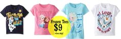 *HOT!* MyHabit:  Frozen Tees (boys & girls) = $9 + FREE Shipping!  Regularly $25!