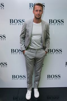 Brendan Fallis in BOSS for the Cape Town store opening
