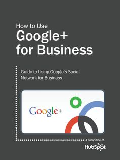 Google+ is here to stay. Learn it! Download: http://www.hubspot.com/how-to-use-google-plus-for-business